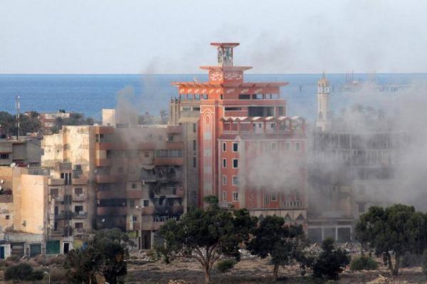 معارك بمنطقة الصابري في بنغازي - عن @fadelullahbujw2