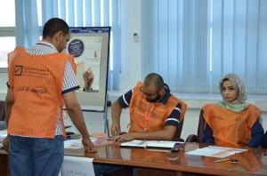 موظفي الإقتراع لإنتخابات مجلس النواب - طرابلس